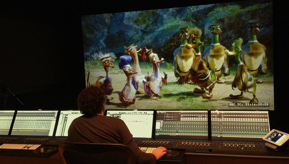 WE HAVE FINISHED SOUND RECORDING FOR «QUACKERZ» MOVIE!